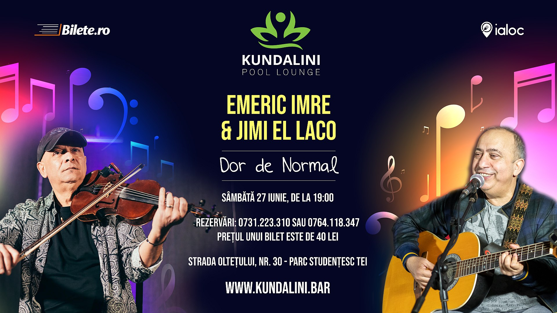 Emeric Imre & Jimi El Laco @ Kundalini